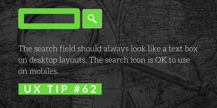 关于搜索的建议第62条