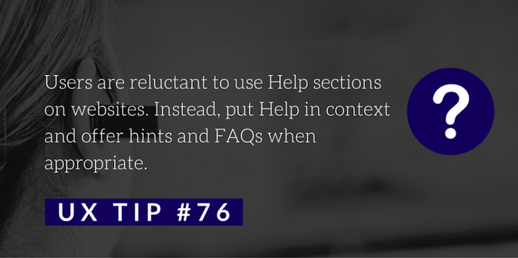 提示和帮助建议第76条