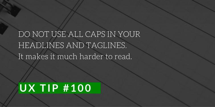 关于可读性的建议第100条