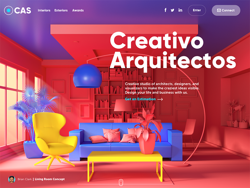 某建筑设计工作室的网站