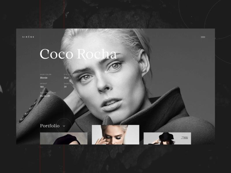 时装模特网站