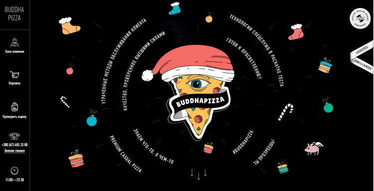 buddhapizza网站设计